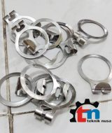 ring anti theft, ring hanger kayu, jual ring hanger kayu murah